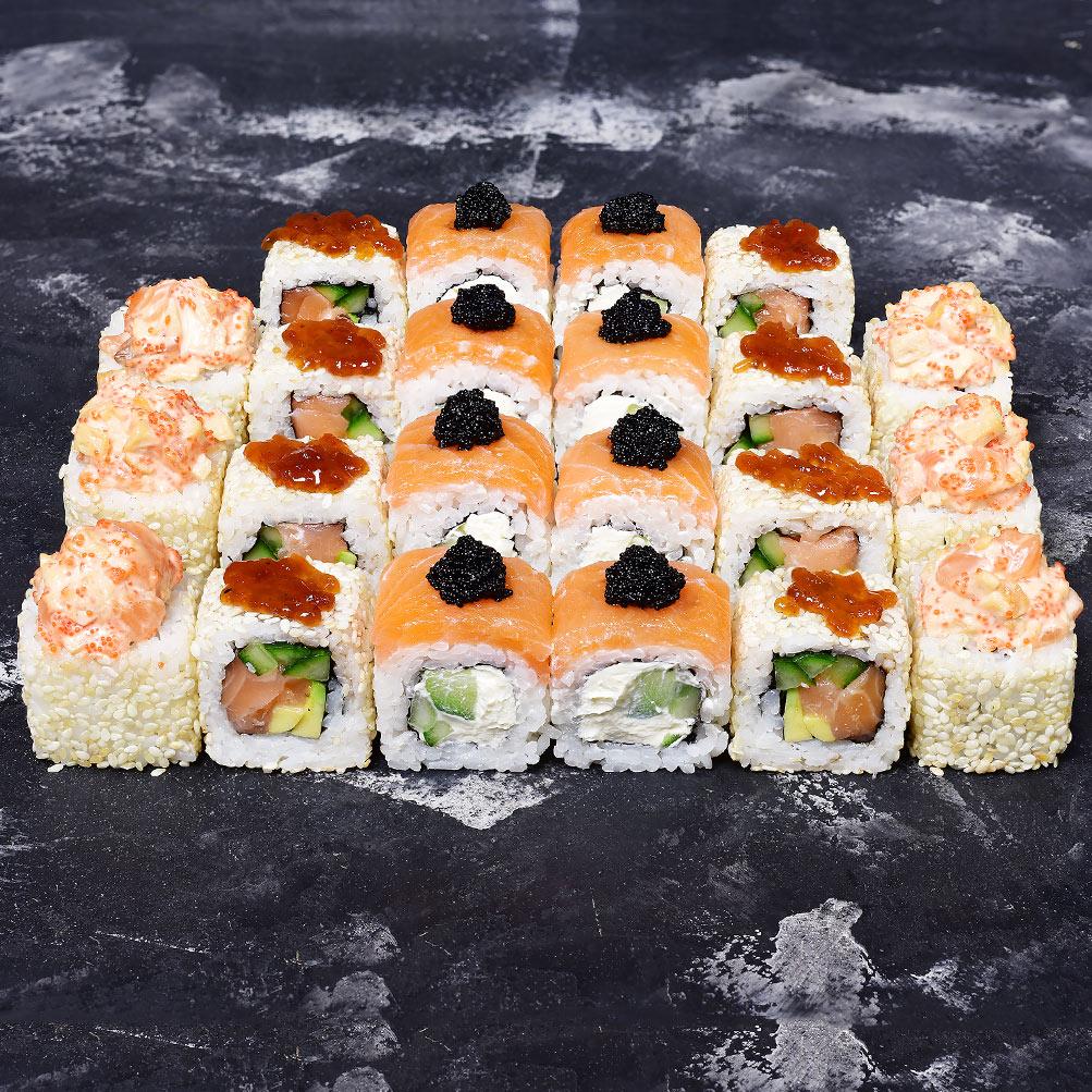 Сет с лососем -40%