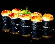 Запечений макі лосось (запечений)