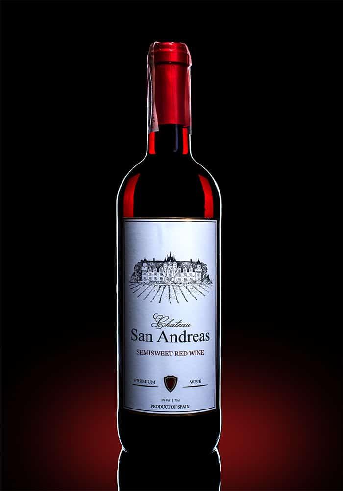 Вино Шато сан Андреас Темпранильо 0.75