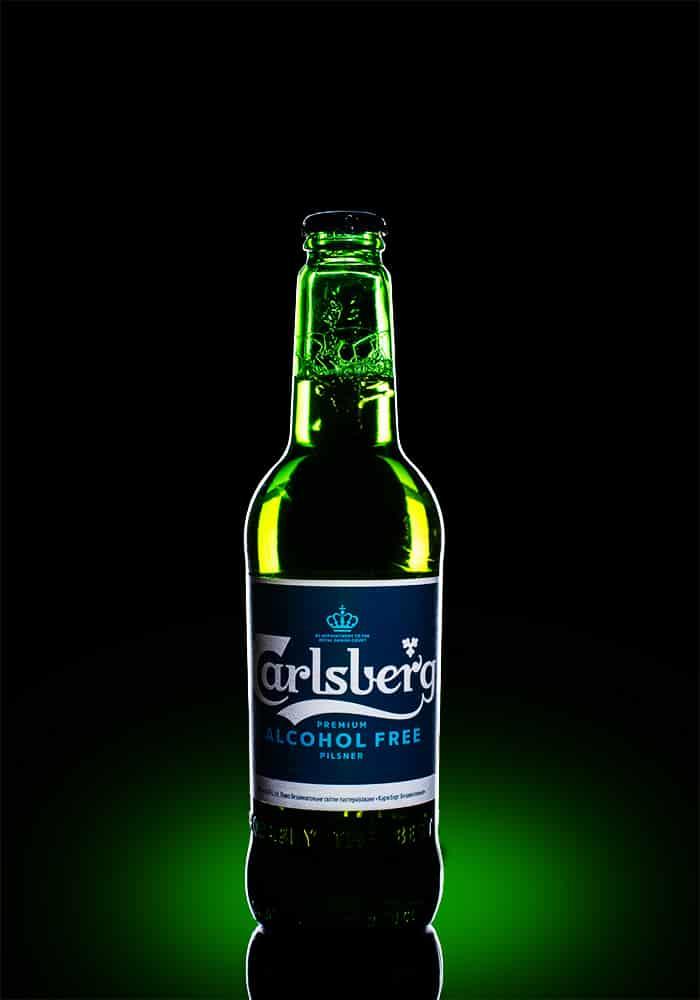 Пиво пляшкове Калсберг б/а 0.5