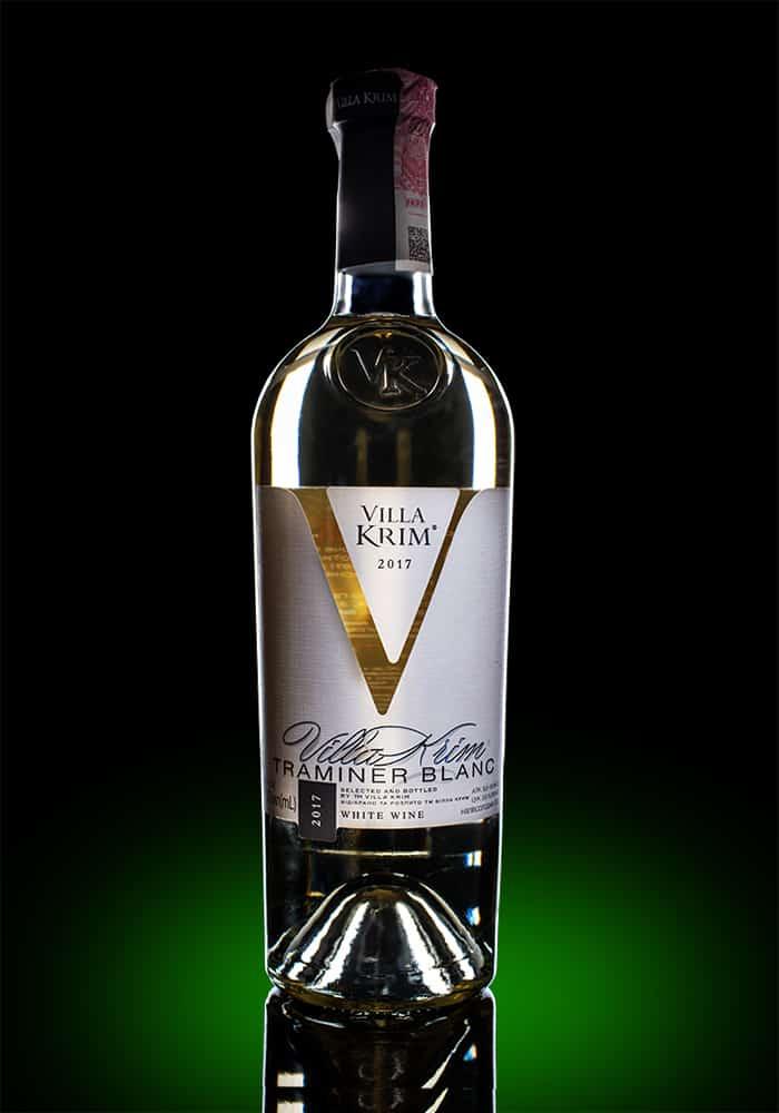 Вино Вилла Крым Траминер белое п/сл. 0.75