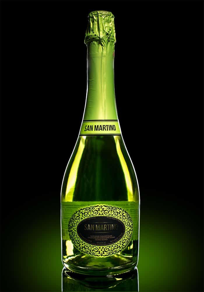 Игристое вино Сан Мартино яблоко п/сл. 0.75